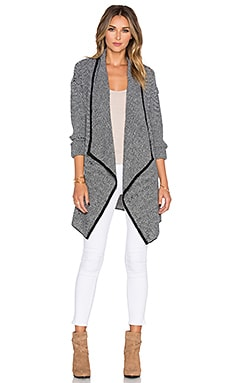 BB Dakota Keira Cardigan in Black & White