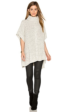 Jack By BB Dakota Keandre Poncho in Ivory