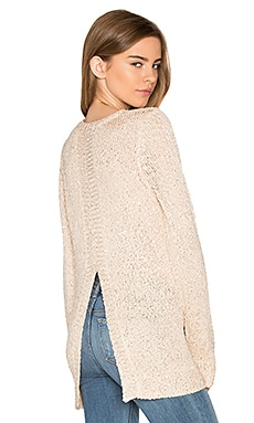 Jack By BB Dakota Warrane Sweater in Champagne