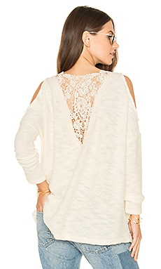Jack by BB Dakota Lyssa Sweater en Barley Beige