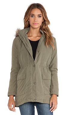 Jack by BB Dakota Welker Coat in Ivy Green