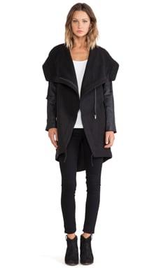 BB Dakota Meilani Drape Front Jacket
