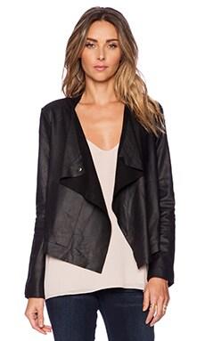BB Dakota Rissi Leather Jacket in Black