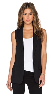 BB Dakota Malcolm Blazer Vest in Black