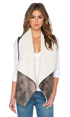 Jack by BB Dakota Dobry Vest in Dark Taupe