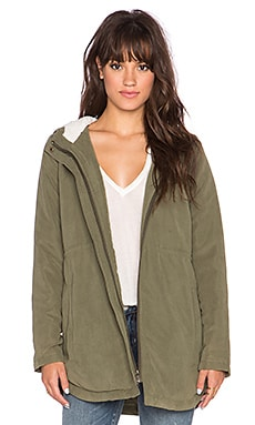 Jack by BB Dakota Harpa Jacket in Ivy Green