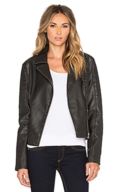 BB Dakota Dorian Moto Jacket in Black