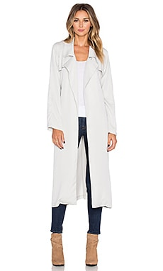 BB Dakota Knox Trench Coat in Fog