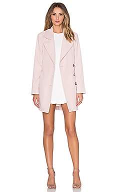 BB Dakota Jack by BB Dakota Monroe Trench Coat in Rose Smoke
