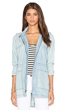 BB Dakota Jack by BB Dakota Ford Coat in Medium Wash Chambray