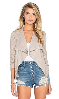 BB Dakota Katella Drape Jacket in Toffee