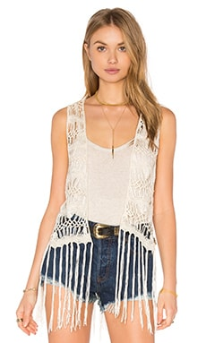 Jack By BB Dakota Lafayette Vest in Ivory