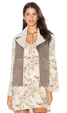 Jack By BB Dakota Delphine Vest in Dark Taupe