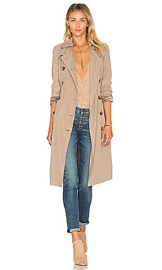 BB Dakota Jack By BB Dakota Wellington Coat in Dark Elm