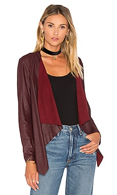 Derby Jacket en Bordeaux