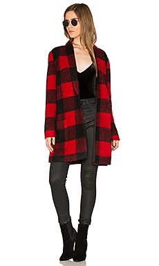 Holton Coat in Red
