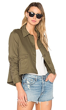 Jack by BB Dakota Cardamom Jacket in Fern Green