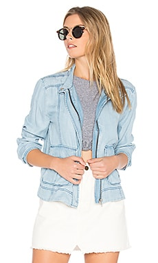 Jaden Jacket in Light Blue