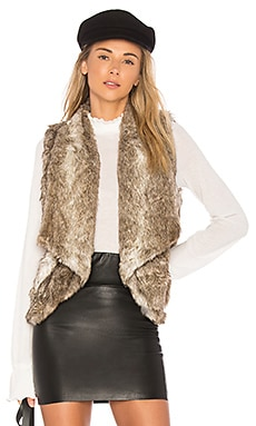 Jack by BB Dakota Faux Fur Dwight Vest