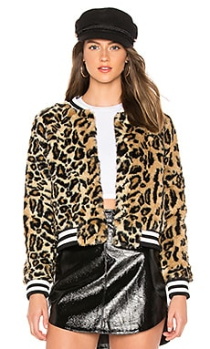 JACK by BB Dakota Clever Girl Faux Fur Jacket BB Dakota $90