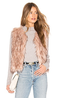 Barbarella Faux Fur Vest BB Dakota $59