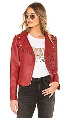Just Ride Faux Leather Jacket BB Dakota $98
