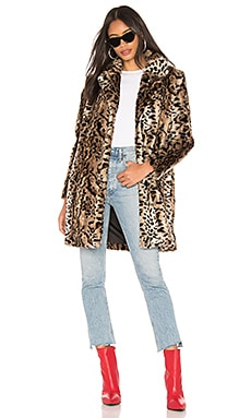 Bradshaw Faux Fur Coat BB Dakota $64