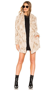 JACK by BB Dakota Warm Thoughts Faux Fur Jacket BB Dakota $49