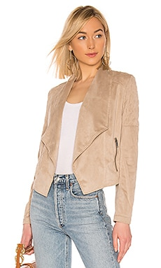 JACK by BB Dakota Quilt Trip Faux Suede Jacket BB Dakota $78