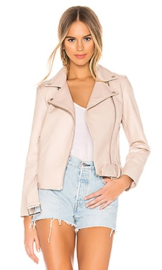 Guest List Faux Leather Jacket BB Dakota $98