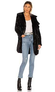 Jack By BB Dakota Shear Factor Faux Fur Coat BB Dakota $97