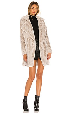 Jack By BB Dakota Shear Factor Faux Fur Coat BB Dakota $108
