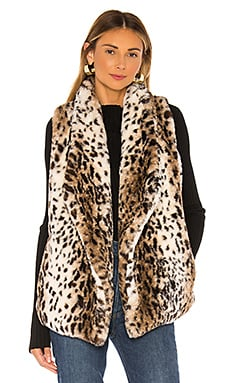 Jack By BB Dakota Purr Usual Faux Leopard Vest BB Dakota $35 (FINAL SALE)