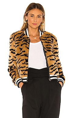 Jack By BB Dakota Tiger Beat Faux Fur Bomber Jacket BB Dakota $98