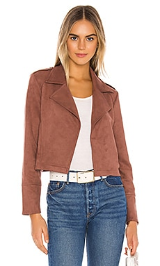 Jack by BB Dakota Stone Fox Faux Suede Moto BB Dakota $88