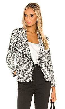 VESTE DRAPÉE EN TWEED SEEING THINGS BB Dakota $108 BEST SELLER