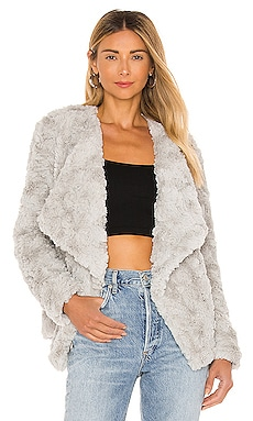 Come Cozy Faux Fur Jacket BB Dakota $129