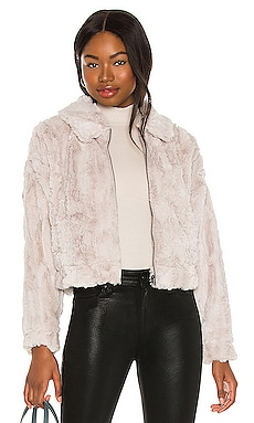 Just Fuzz Faux Fur Jacket BB Dakota $129