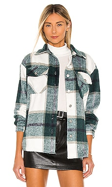 Plaid Shirt Jacket BB Dakota $99 BEST SELLER