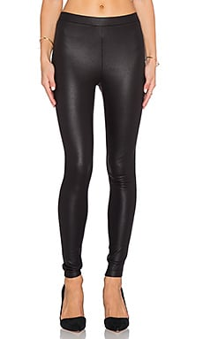 Omri Snakeskin Legging in Black