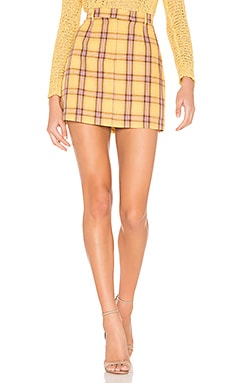 Best I Ever Plaid Skirt BB Dakota $51