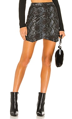Jack By BB Dakota Python The Run Wrap Skirt BB Dakota $68 NEW ARRIVAL