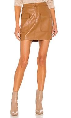 Leather Too Late Skirt BB Dakota by Steve Madden $79