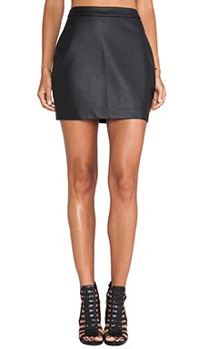Fairley Faux Leather Skirt