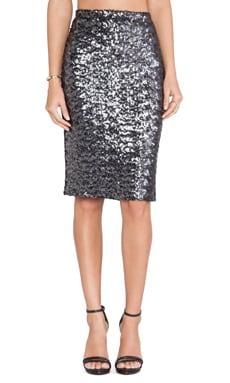 BB Dakota Jomene Sequin Skirt in Black