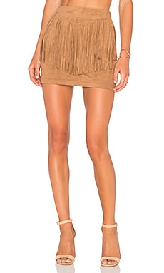 Jack By BB Dakota Eulamay Skirt in Camel