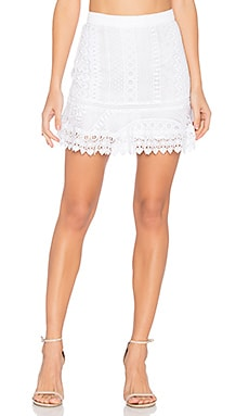 Vera Skirt in Optic White