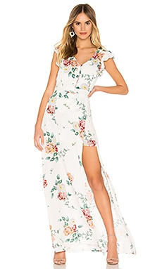 JACK by BB Dakota Pinkies Up Maxi Romper BB Dakota $88