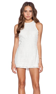 BB Dakota Leola Romper in Ivory