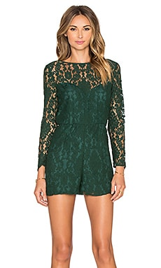 Dasha Romper in Hunter